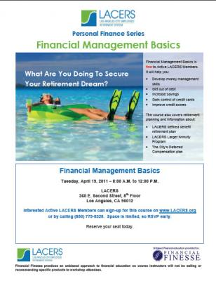 The basics of financial management
