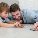 Игра с отцом может улучшить самообладание детей
